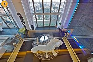 طراحی داخلی واحد مسکونی(پنت هاوس)