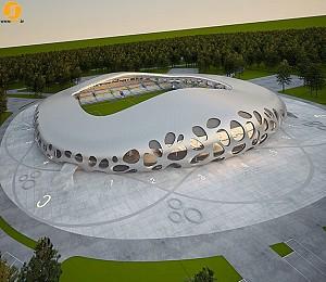 طراحی استادیوم ورزشی مرکزی بلاروس