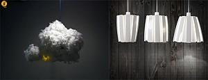 طراحی خلاقانه لوستر Via و Cloud