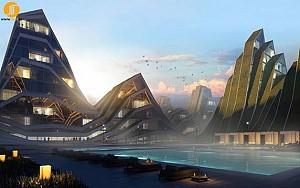 پروژه مجتمع های مسکونی تایوان- BIG