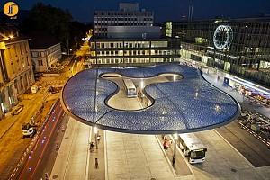 طراحی ایستگاه اتوبوس با رویکرد معماری اکوتک