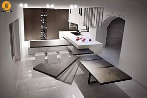 طراحی میز آشپزخانه چند منظوره