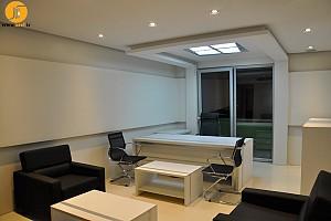 طراحی و اجرای  دفتر کار- پروژه زعفرانیه