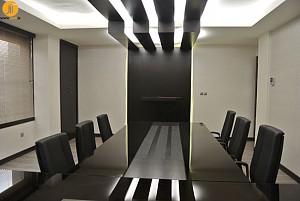 طراحی داخلی دفتر کار - پروژه ی صبا