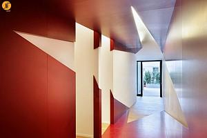 طراحی دکوراسیون داخلی رستوران آرخام
