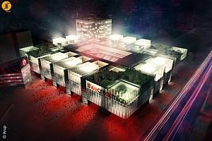 طرح جدید استادیوم فوتبال میلان ایتالیا