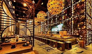 طراحی رستوران سنتی ژاپنی در دبی