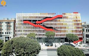 طراحی پارکینگ سانتا مونیکای لس آنجلس