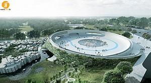 طرح گروه معماری بیگ از باغ وحش آفریقایی در دانمارک