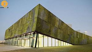 نصب «بتن بیولوژیکال» در دیوارههای سبز عمودی