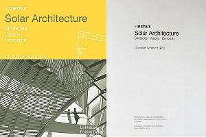 معرفی و دانلود کتاب معماری خورشیدی (Solar Architecture)