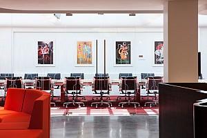 طراحی داخلی دفتر مرکزی Campri
