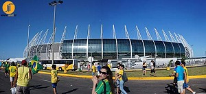 اتمام ورزشگاه کاستلاو آرنا در یک قدمی جام جهانی 2014