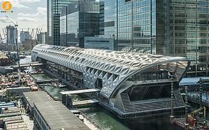 طرح اسکله ایستگاه کراس ریل لند توسط فاستر + شرکاء