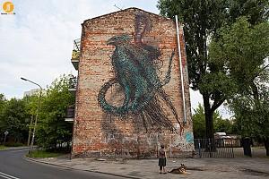نقاشی های دیواری خلاقانه از هنرمندان چینی