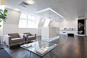 طراحی داخلی شرکت Louse Vuitton