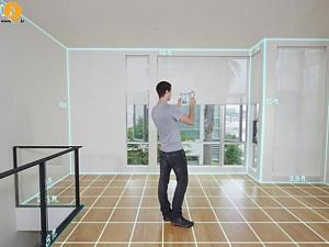 اسکن سه بعدی و طراحی فضا بر روی ipad