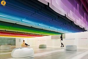 سقف تعلیقی 100 رنگ