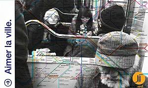 فضاهای حمل و نقل عمومی پاریس در تسخیر تبلیغات فرهنگی(1)