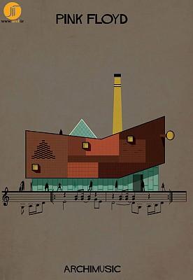 معماری،موسیقی وهنر تصویر