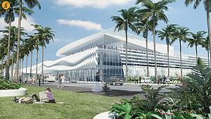 طراحی مرکز کنوانسیون ساحل میامی