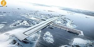 معماری فرودگاه و بندر FGL کاری از گروه BIG