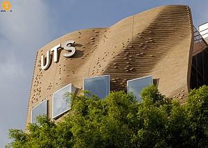 طراحی دانشگاه فناوری سیدنی توسط فرانک گری