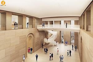 طراحی گالری و بازسازی موزه فیلادلفیا توسط فرانک گری