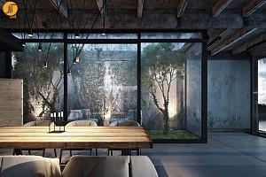 معماری خانه ی da-House