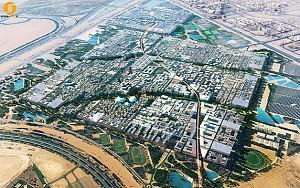طراحی شهر مصدر،اولین شهر پاکیزه دنیا با عنصر معماری پایدار
