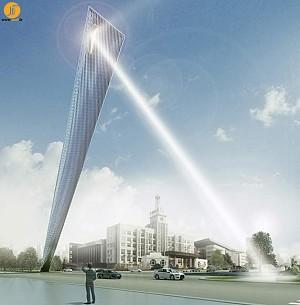 طراحی برج نمادین تیانجین