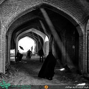 نور در معماری سنتی ایرانی