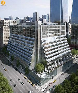 بازسازی و توسعه ساختمان REX
