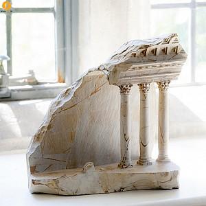 ماکت بناهای قرون وسطی با متریال سنگ مرمر