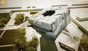 طراحی موزه ملی افغانستان