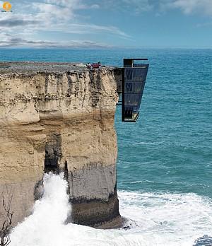 خانه صخره ای معلق بر روی اقیانوس استرالیا
