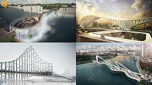 کانسپت های مفهومی مسابقه طراحی پل تایمز لندن