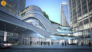 طراحی مجتمع تجاری چونگ کینگ