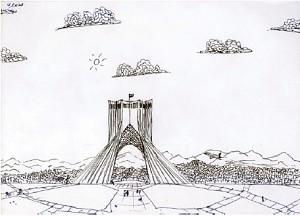 برج مخابراتی نمی تواند نماد هویتی کهن ترین ملت دنیا باشد