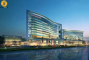 طراحی نمای بیمارستان سوزو (Suzhou)