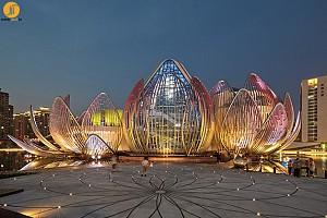 طراحی پارک و مجموعه لوتوس