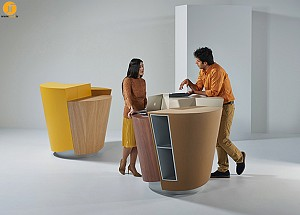 طراحی جایگاه (Stand) کرو و کوچک
