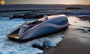 طراحی یک قایق تفریحی یا یک کشتی لوکس کوچک