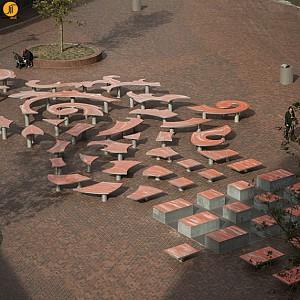 موسیقی و معماری - طراحی المان شهری