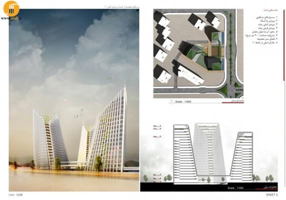 Arel nå et boligtårn designkonkurranse vinneren Søn