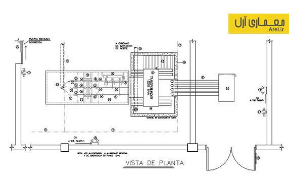 دانلود نقشه تاسیسات موتور خانه