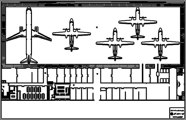 پلان فرودگاه