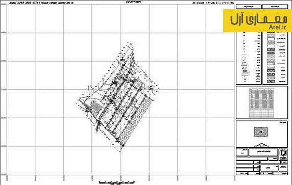 دانلود نقشه کاربری اراضی روستای جعفر آباد علیای قوچان