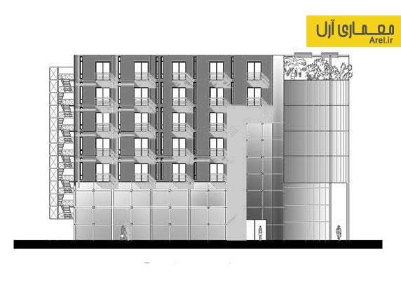 دانلود پلان تیپ طبقاتی هتل