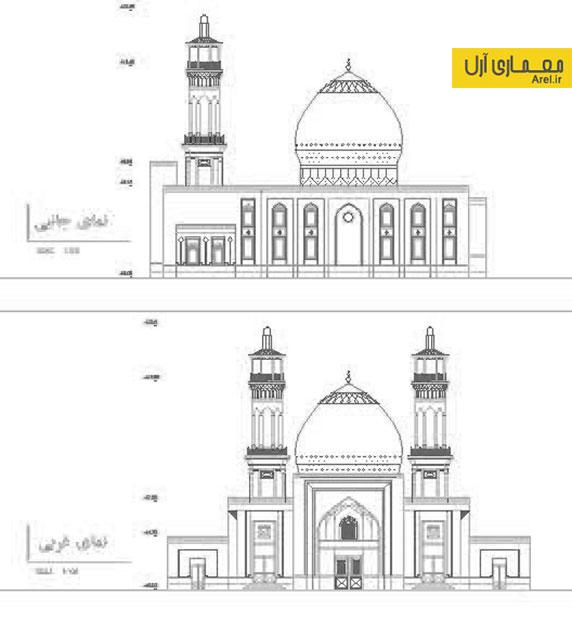 دانلود پلان فاز 2 مسجد ابوموسی استان هرمزگان